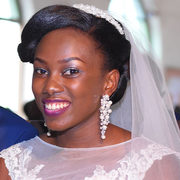 Wedding Hairstyles In Uganda: Best Bridal Hairdo For Your Face Shape