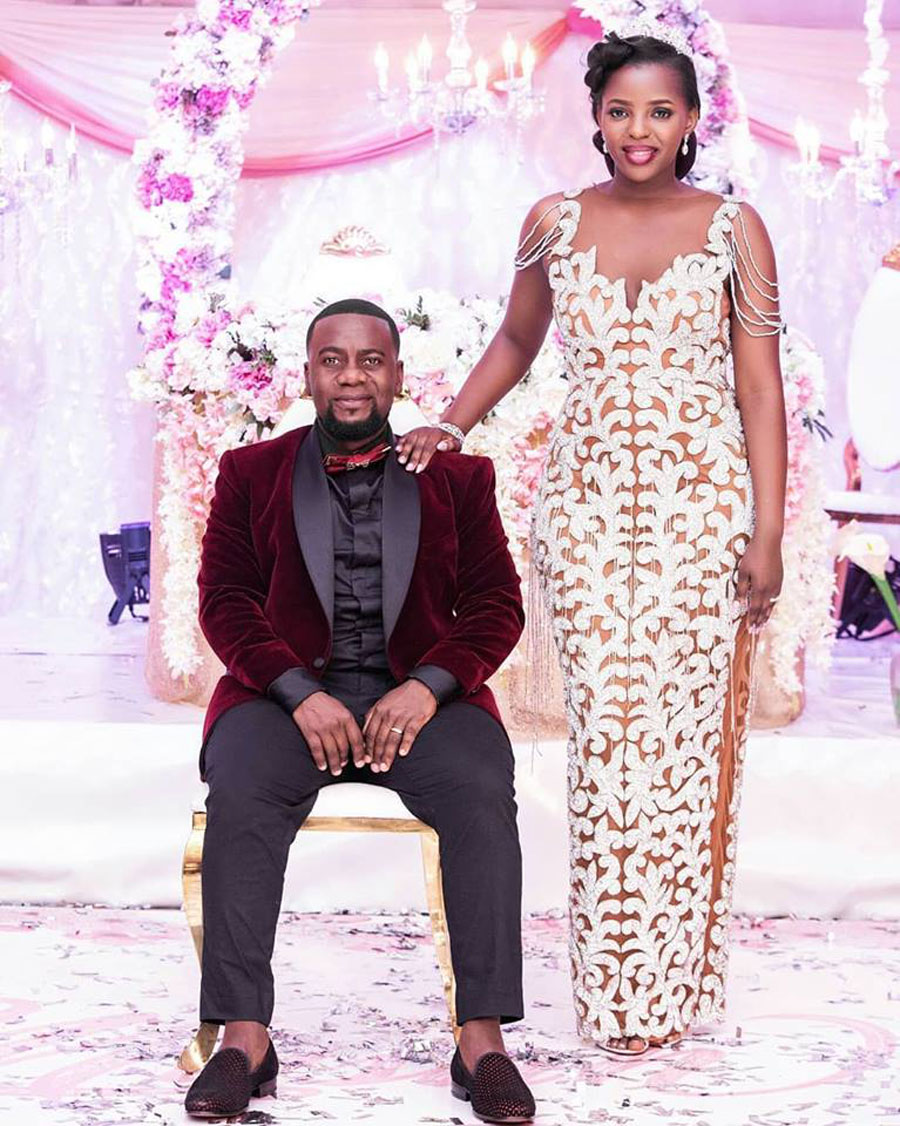 5 Ugandan brides that rocked their weddings with two gowns