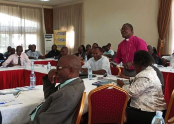 West-Buganda-Diocese-Bishop-Katumba-Tamale-adressing-the-gathering--on-Febuary-1,2019  Photo by Malik Fahad Jjingo