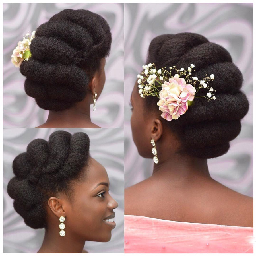 Wedding Hairstyles In Uganda: Alternative Bridal Hair Accessories That Will Make You Pop