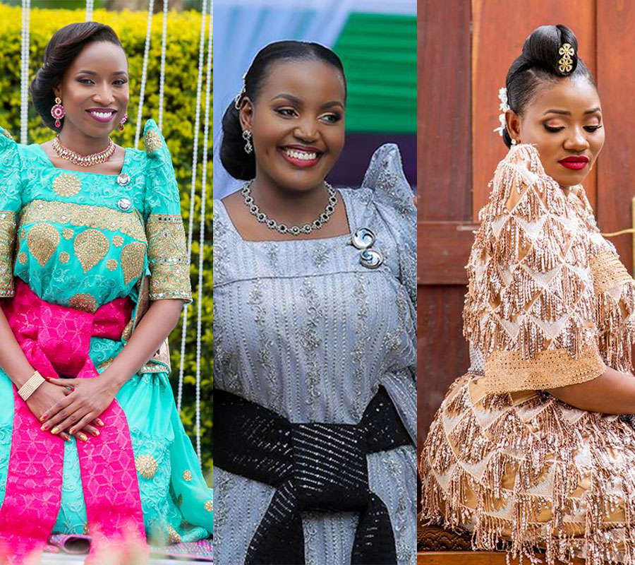 Wedding Hairstyle Magazine: Ugandan Brides That Dressed To Kill During Their