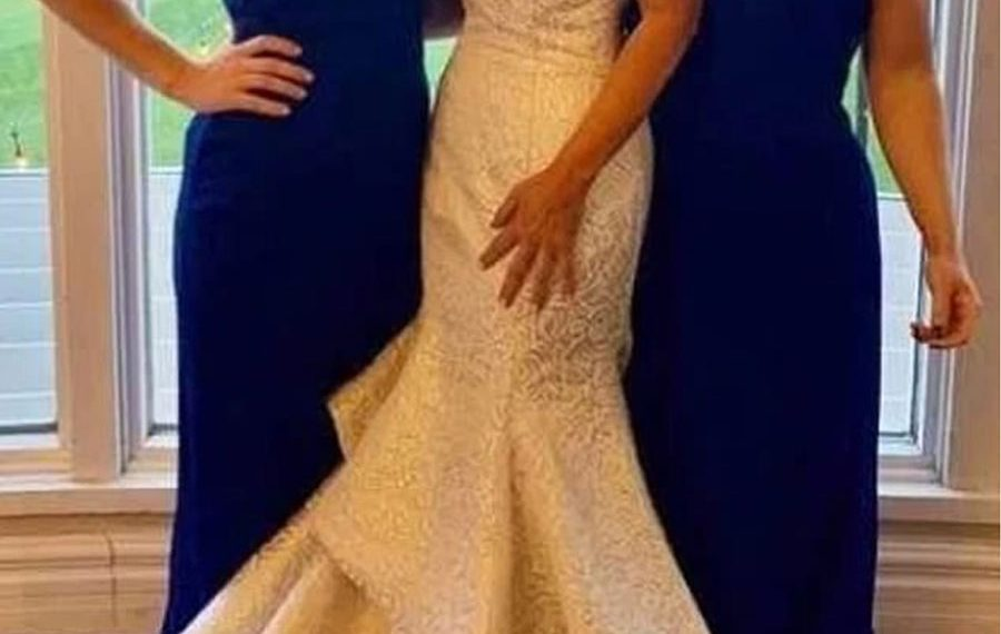 Mother In Law Blasted For Wearing Long White Fishtail Dress
