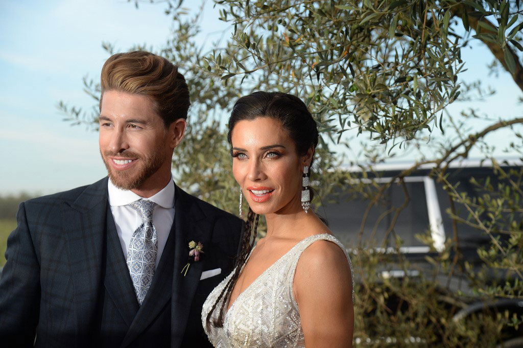 Real Madrid S Sergio Ramos Gets Married To Longtime Fiancee Pilar Rubio My Wedding For Fashion Uganda Wedding Kwanjula And Kuhingira Budget Ideas